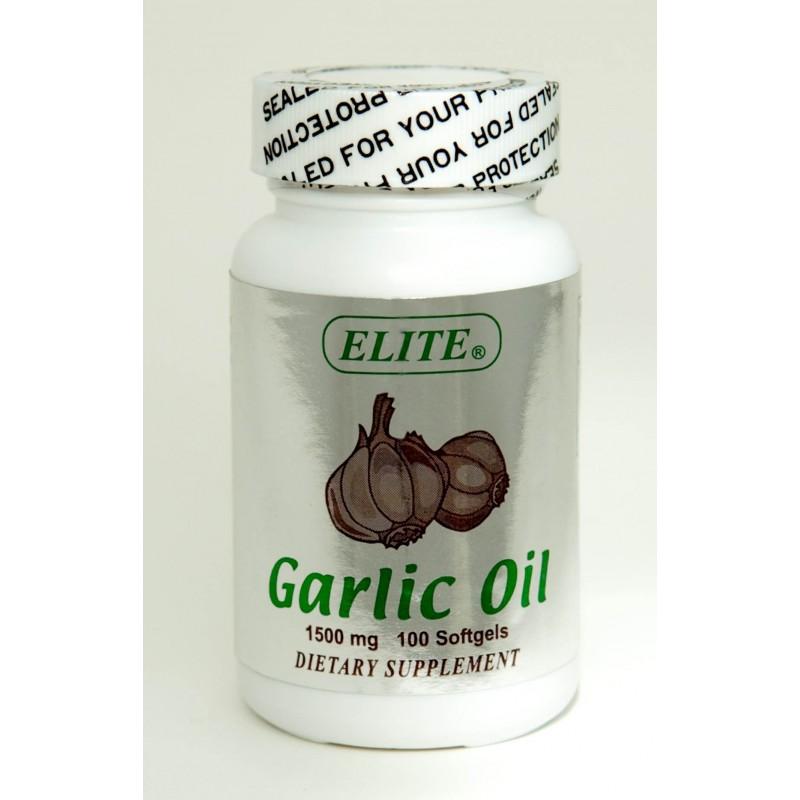 Garlic Oil - 1500mg / 100 Softgels